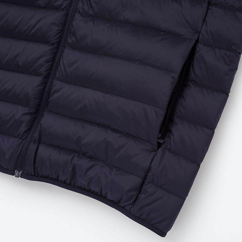 299元包邮 UNIQLO 优衣库 男装 高级轻型羽绒连帽外套